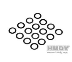 HUDY CONICAL CLUTCH WASHER SPRING SET (8x 0.4mm + 8x 0.6mm)