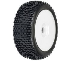 Pro-Line White Pre-Mounted Bow Tie 1/8 Buggy Tires (2)
