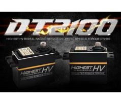 Highest DT2100 High Volt Digital servo (Black wire)
