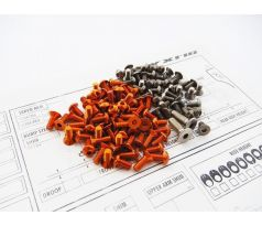 Hiro Seiko Xray X1'18 Alu & Titan Screw Set (89pcs)