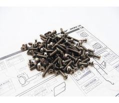 Hiro Seiko Xray XB2C'18 Titanium Screw Set (113pcs)
