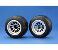 RIDE F104 Front F-1 Rubber Tire, XR High Grip Compound (preglued)