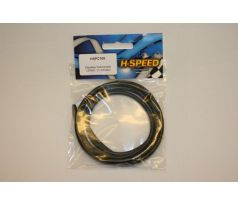 Super Flexible High Current Silicon Wire 12 AWG Black 100cm
